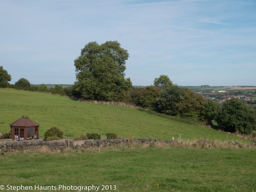 Holbrook Village near Belper, Derbyshire, United Kingdom
